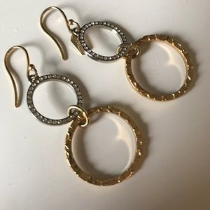 COACH Double Circle Earrings